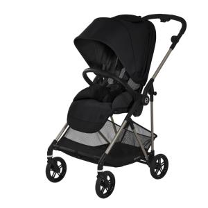 Cybex Melio Deep Black - wózek spacerowy