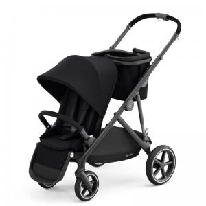 Cybex Gazelle S Deep Black - wózek spacerowy